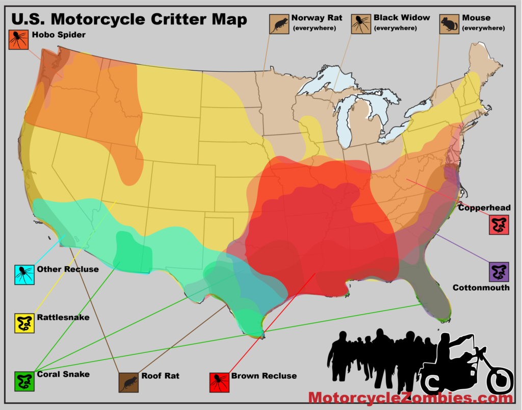 MotorcycleZombies.com Critter Map