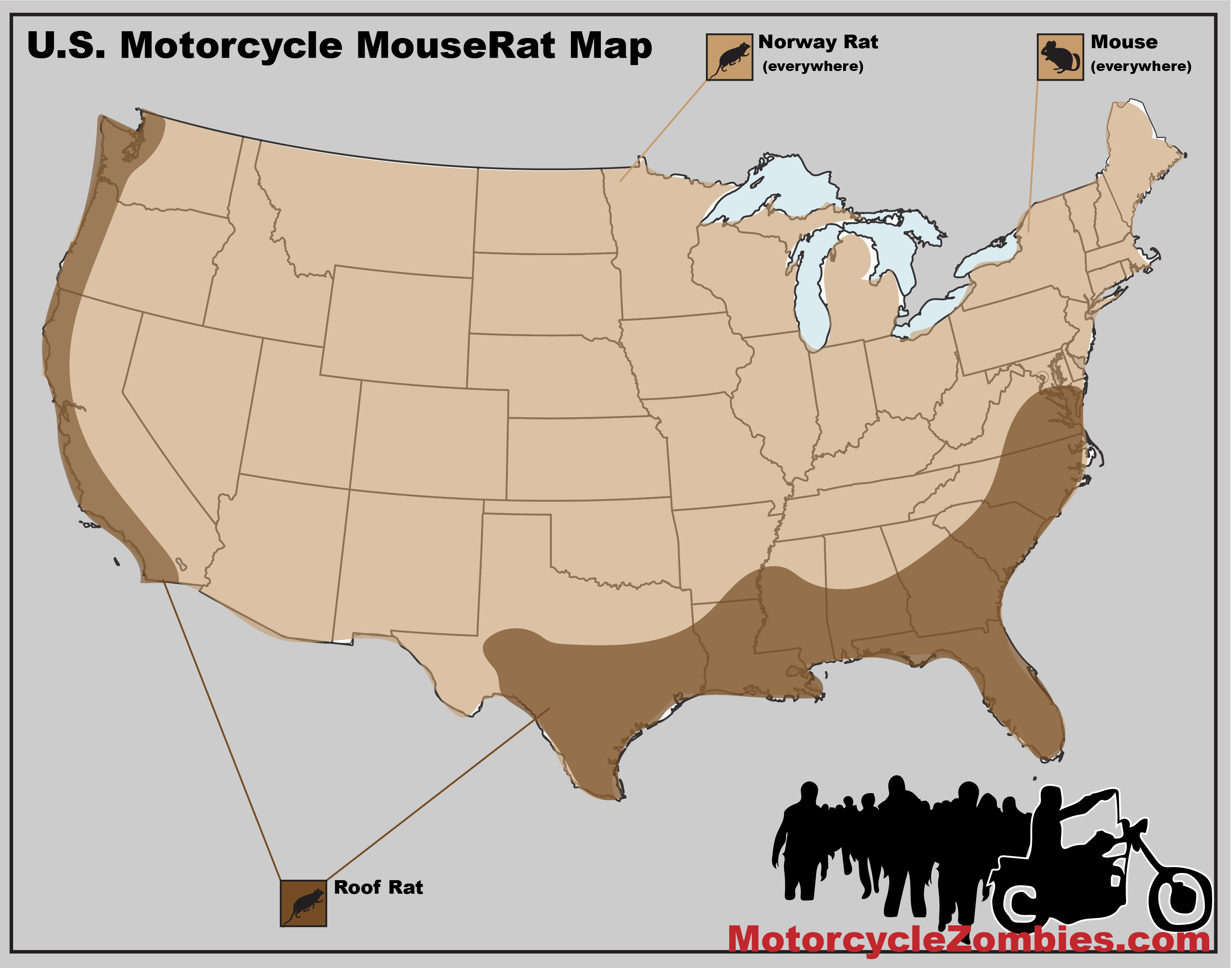 MotorcycleZombies.com MouseRat Map
