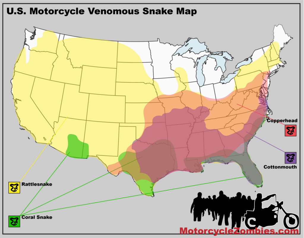 MotorcycleZombies.com Snake Map