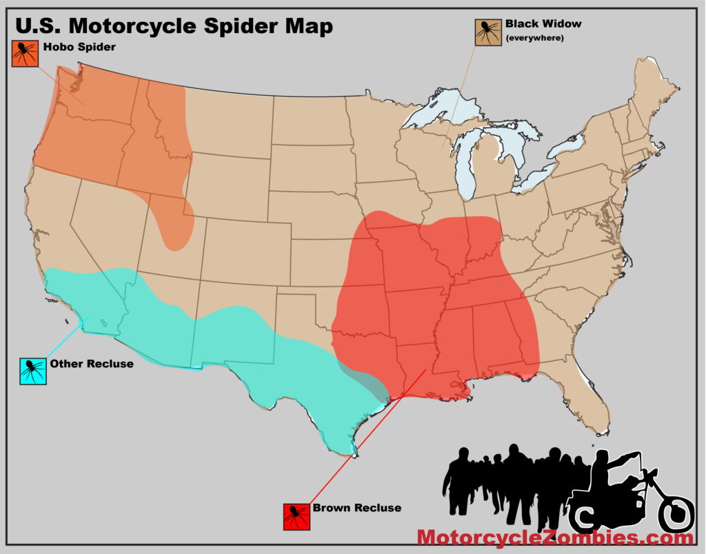 MotorcycleZombies.com Spider Map
