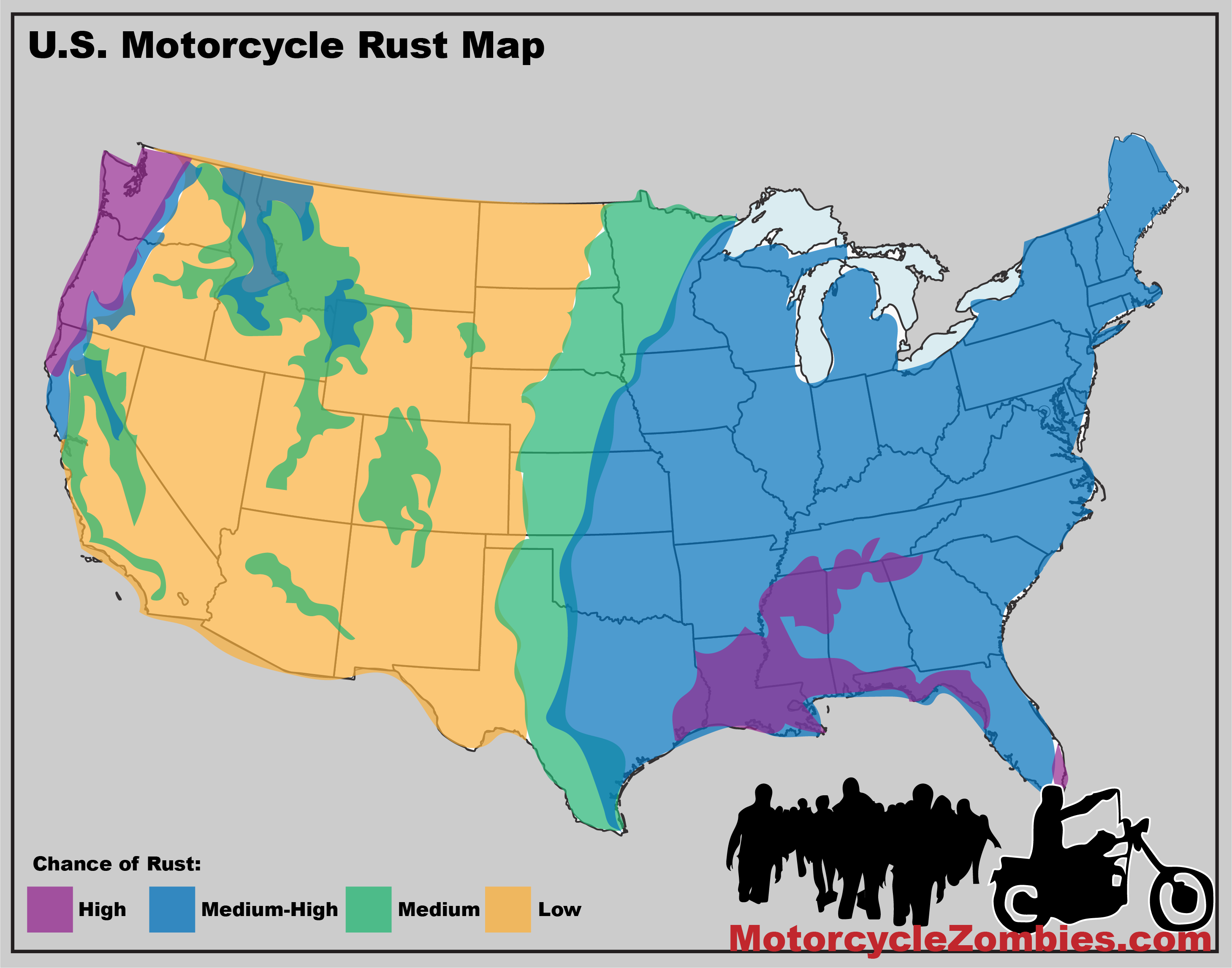 how to get rid of rust on motorcycle