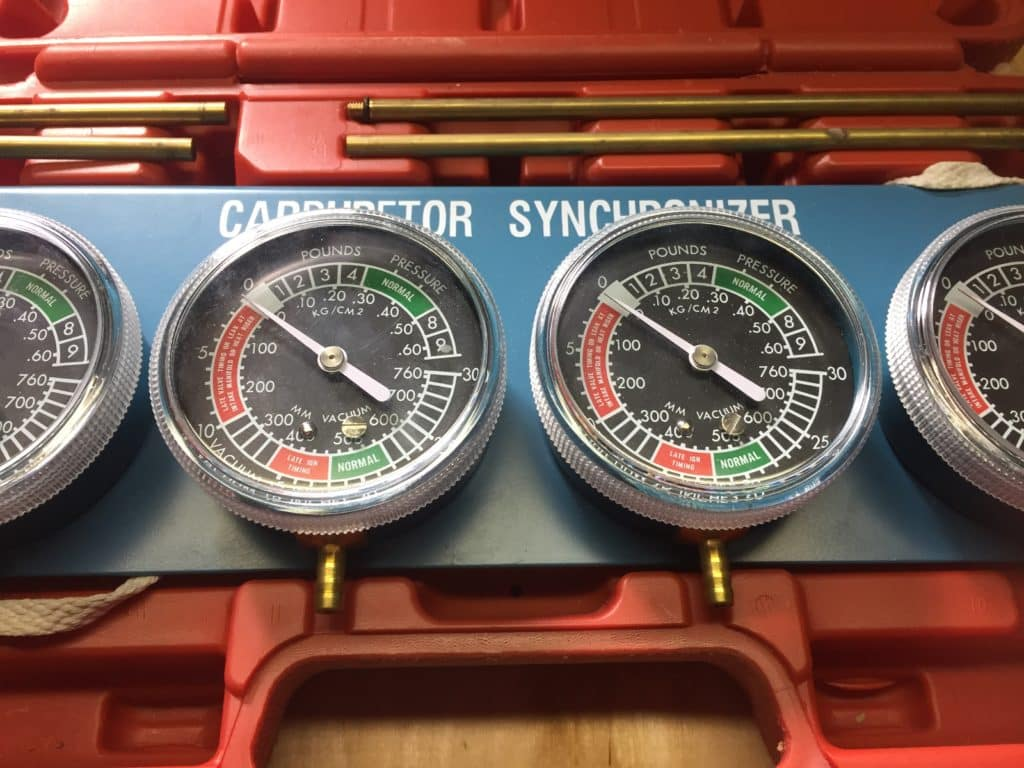 Motorcycle Carburetor Synch Tool