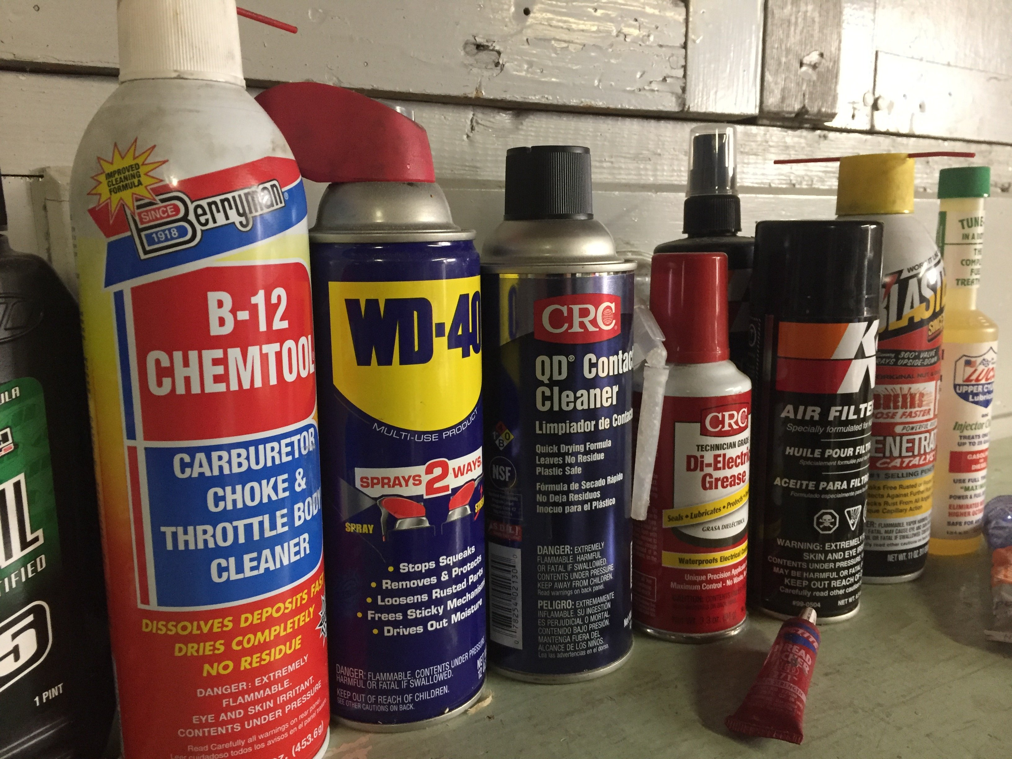 Motorcycle Chemicals