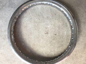 Spoked Motorcycle Rim