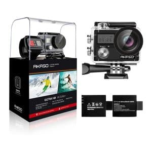 AKASO Motorcycle Action Camera