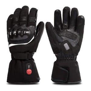 Savior Heated Motorcycle Gloves
